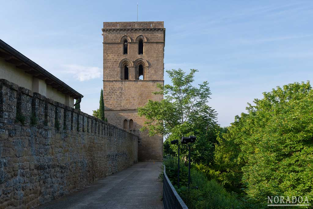 Torre Abacial y muralla de Laguardia