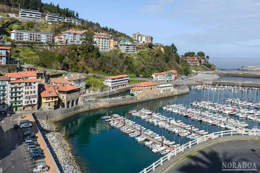 El puerto de Mutriku es uno de los más antiguos de la costa de Gipuzkoa