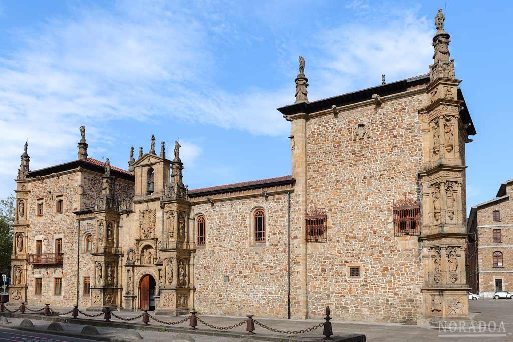 La universidad del Espíritu Santo es el monumento más representativo de Oñati