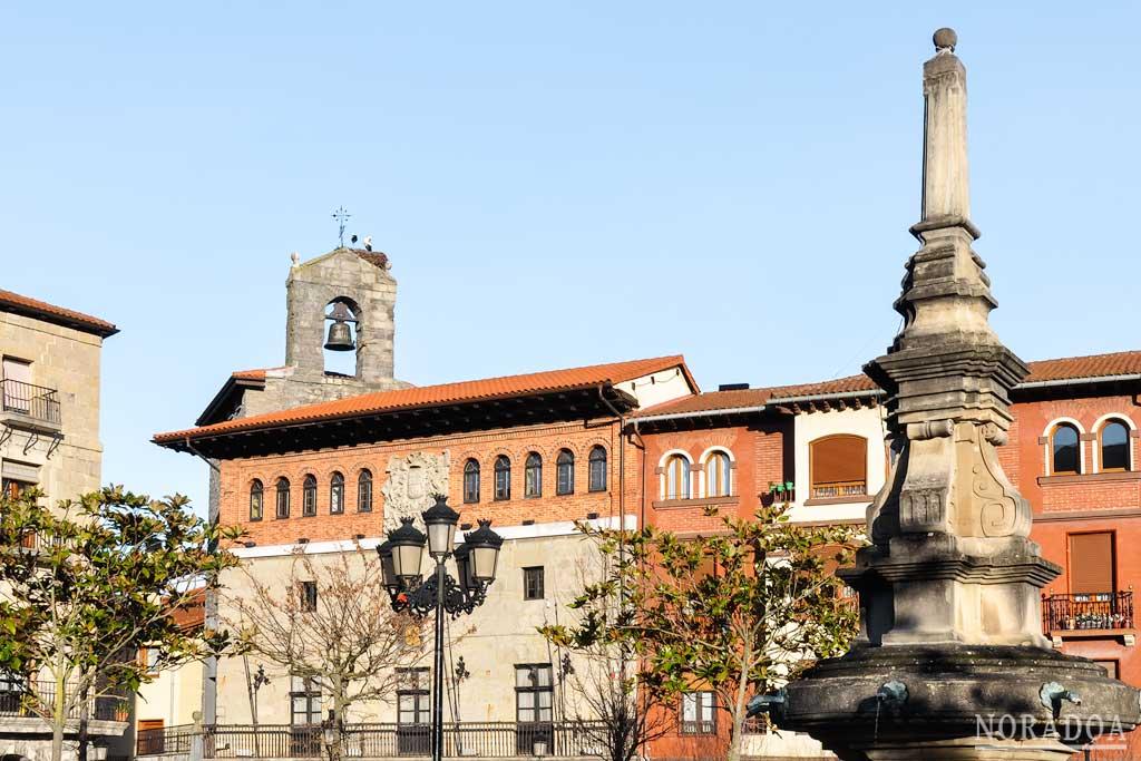 Plaza de los Fueros de  Orduña