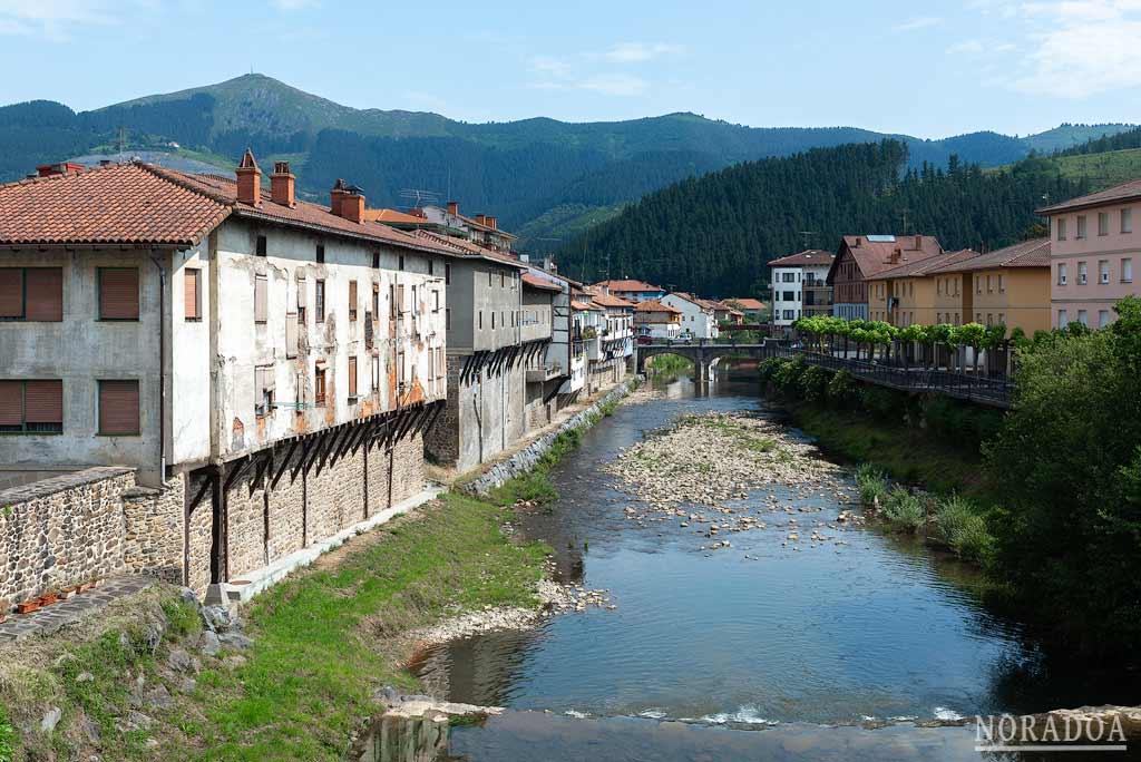 Río Altube al paso por Orozko
