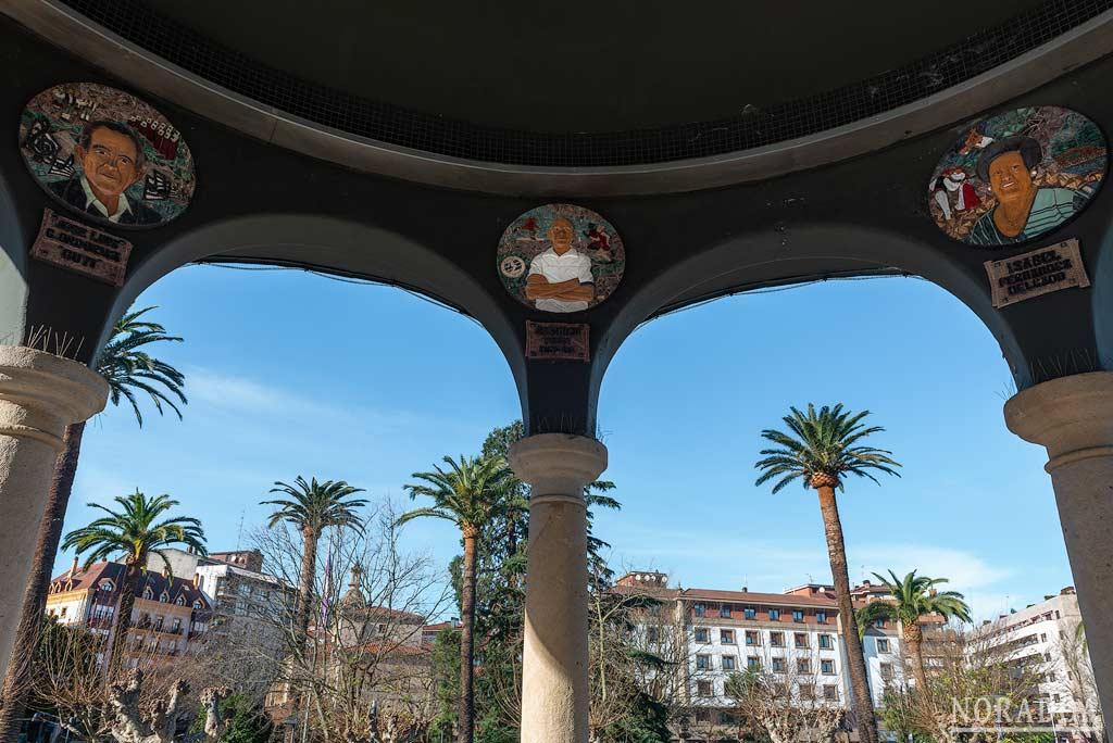 El kiosco del parque Central es uno de los principales símbolos de la localidad