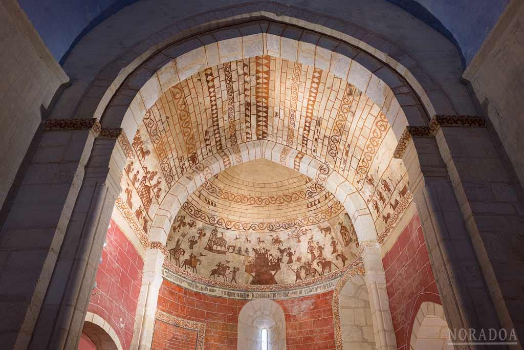 Pinturas de la iglesia de Nuestra Señora de la Asunción de Alaitza