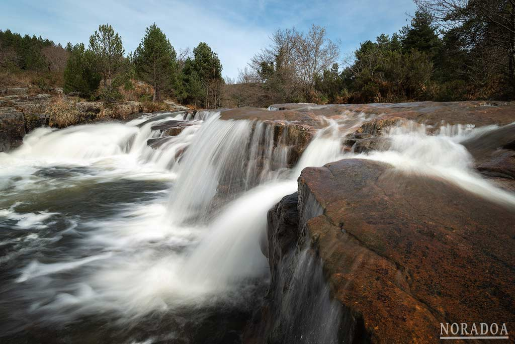 Ruta de las Cascadas del río Bayas
