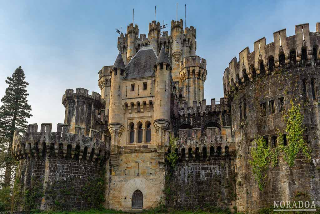 Castillo de Butrón en Gatika