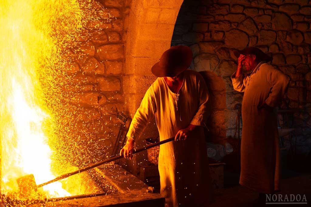 Teatralización  en la ferrería Mirandaola