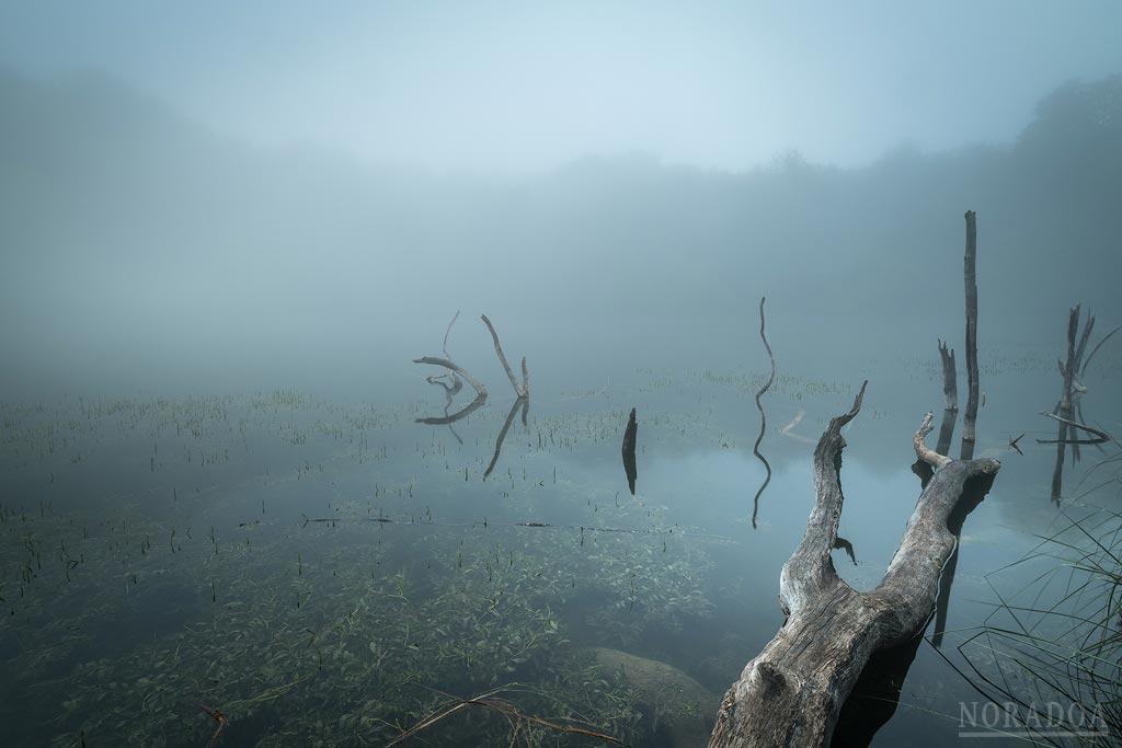 Laguna Lamioxin, también conocida como Pozo de las Lamias
