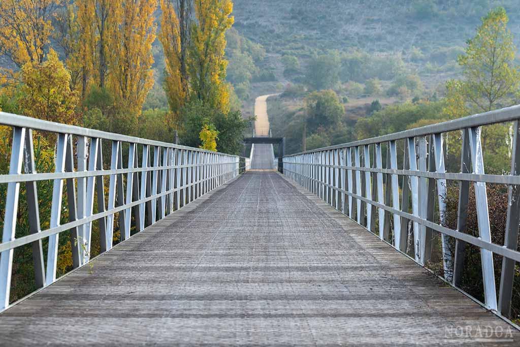 Ruta verde del embalse Ullíbarri-Gamboa