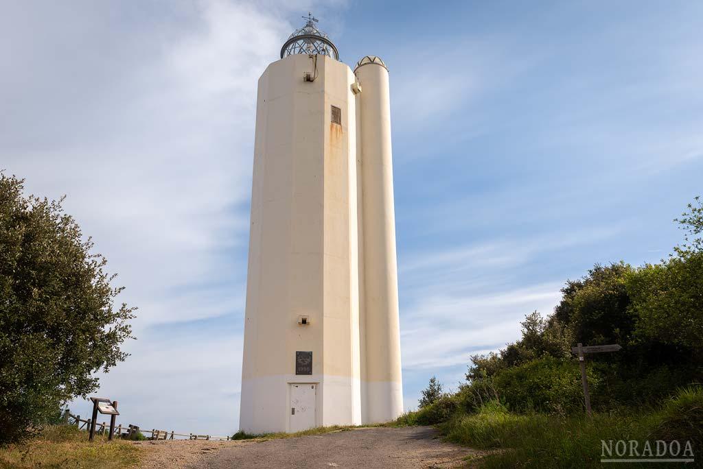 El faro de Gorliz es el faro ubicado a mayor altura del País Vasco