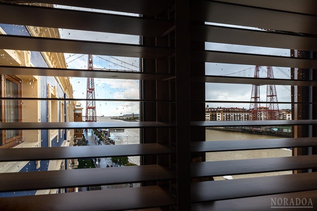 A través de la ventana del Puente Colgante Boutique Hotel