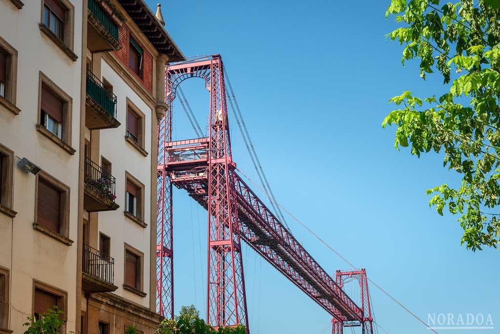 Vistas desde el barrio de Las Arenas de Getxo