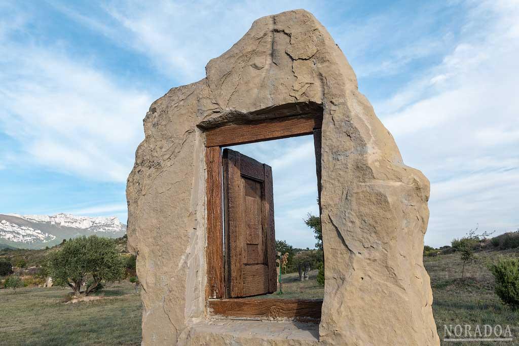 Ibaola Harriak es un museo al aire libre